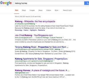 katonghomes search results