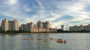 Kallang Bay view