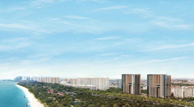 Seaside Residences the first project to adopt new design requirements along ECP corridor.